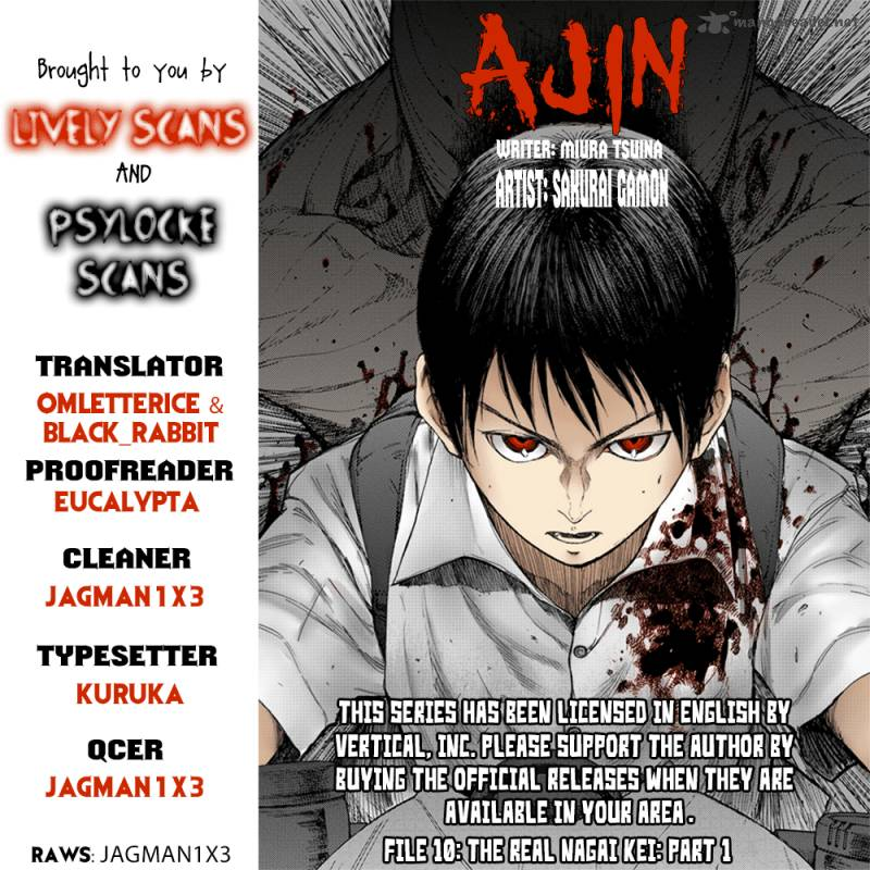 Ajin Chapter 10 Page 1