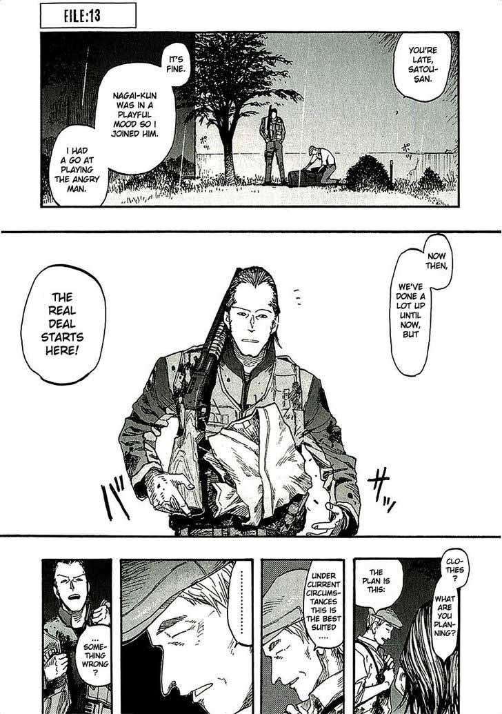 Ajin Chapter 13 Page 1