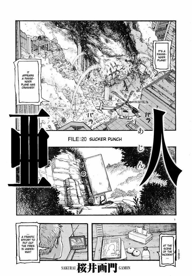 Ajin Chapter 20 Page 1