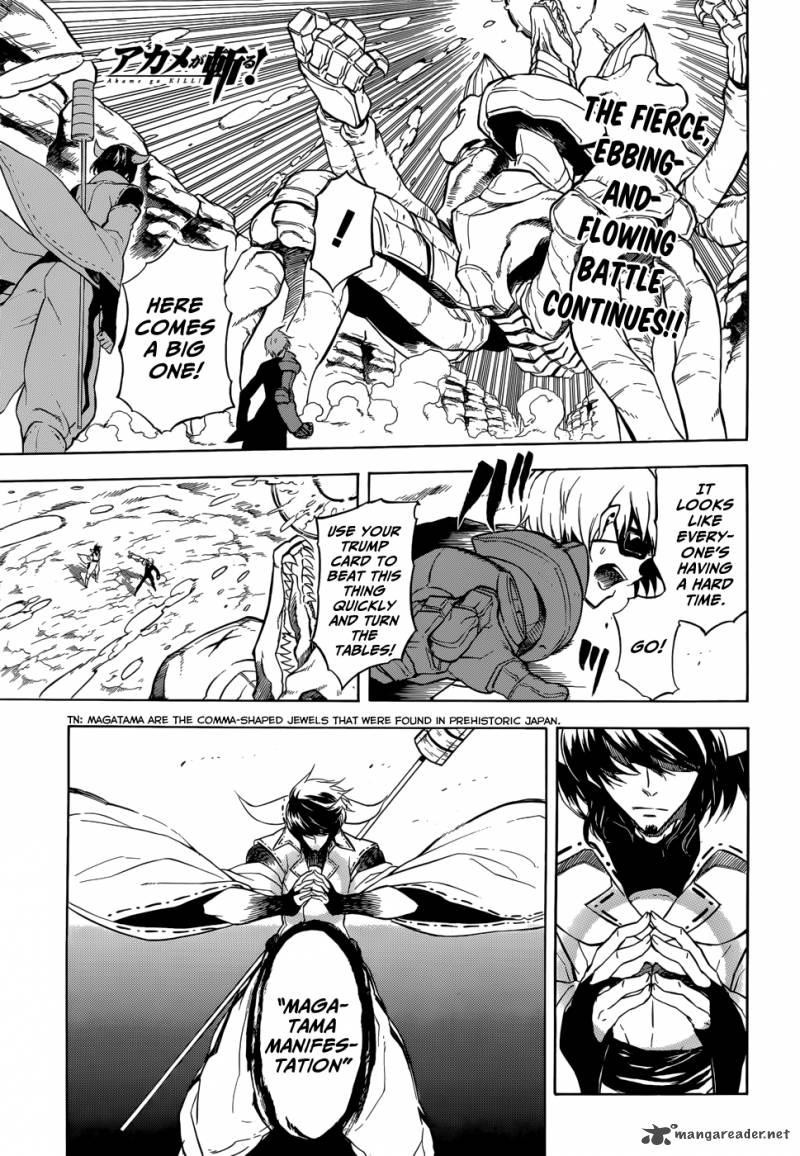 Akame Ga Kiru Chapter 32 Page 1