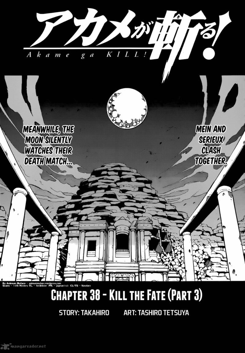 Akame Ga Kiru Chapter 38 Page 1