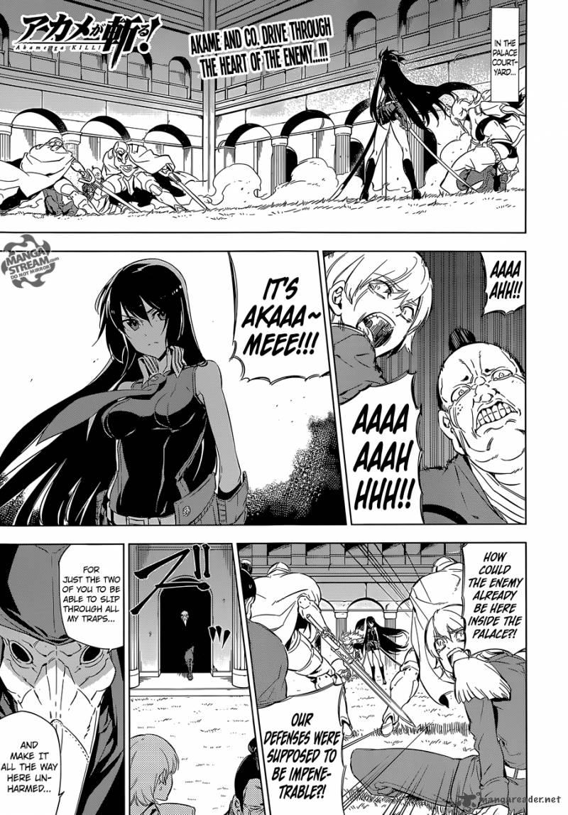Akame Ga Kiru Chapter 70 Page 1