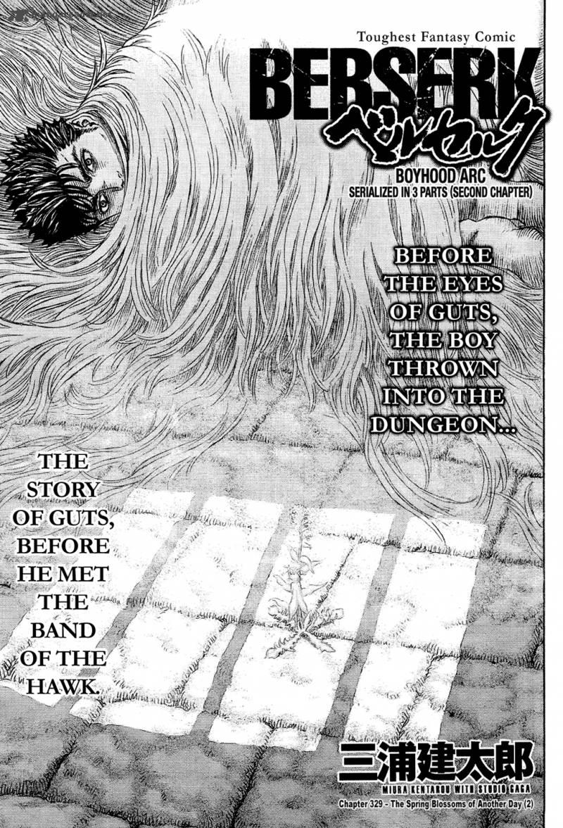 Berserk Chapter 329 Page 1