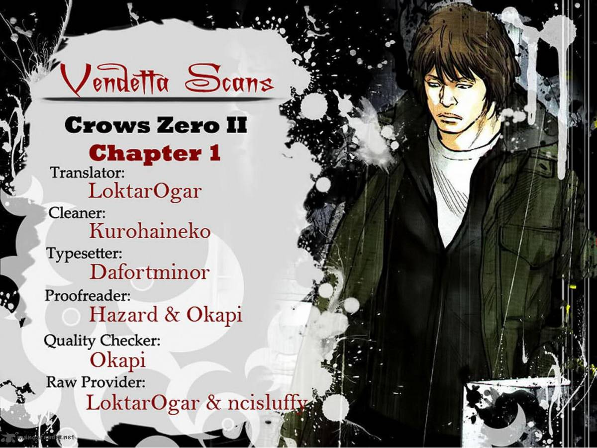 Crows Zero II Suzuran X Houen Chapter 1 Page 1