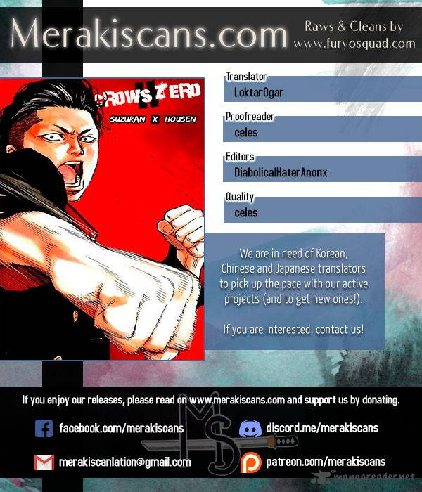 Crows Zero II Suzuran X Houen Chapter 24 Page 1
