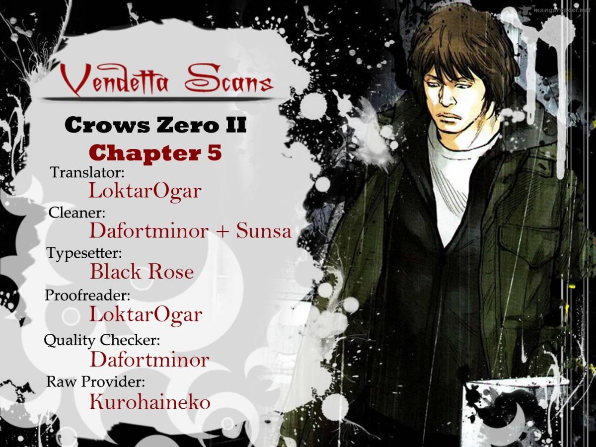 Crows Zero II Suzuran X Houen Chapter 5 Page 1