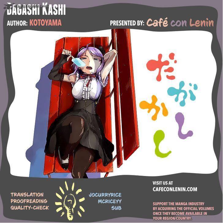 Dagashi Kashi Chapter 10 Page 1