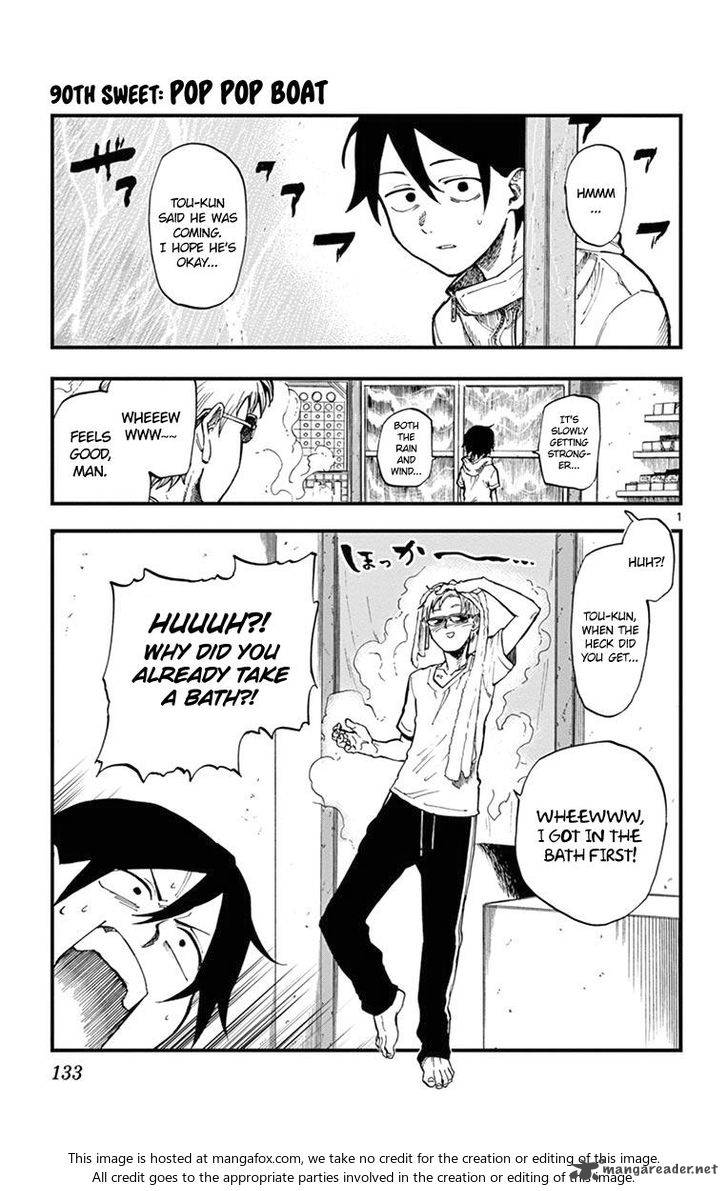 Dagashi Kashi Chapter 90 Page 1