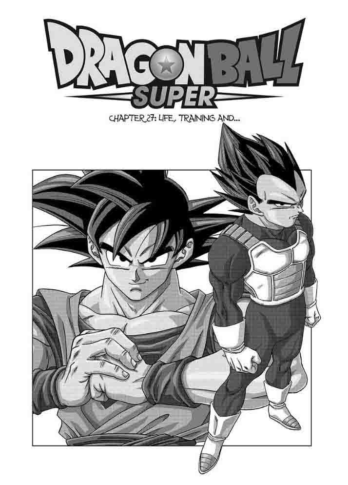 Dragon Ball Super Chapter 27 Page 1