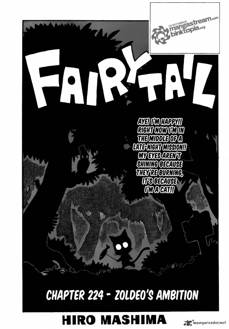 Fairy Tail Chapter 224 Page 1