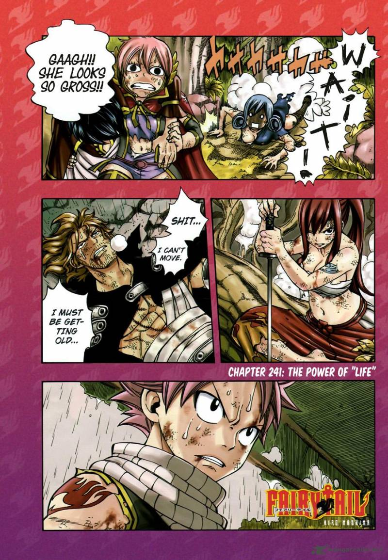 Fairy Tail Chapter 241 Page 1