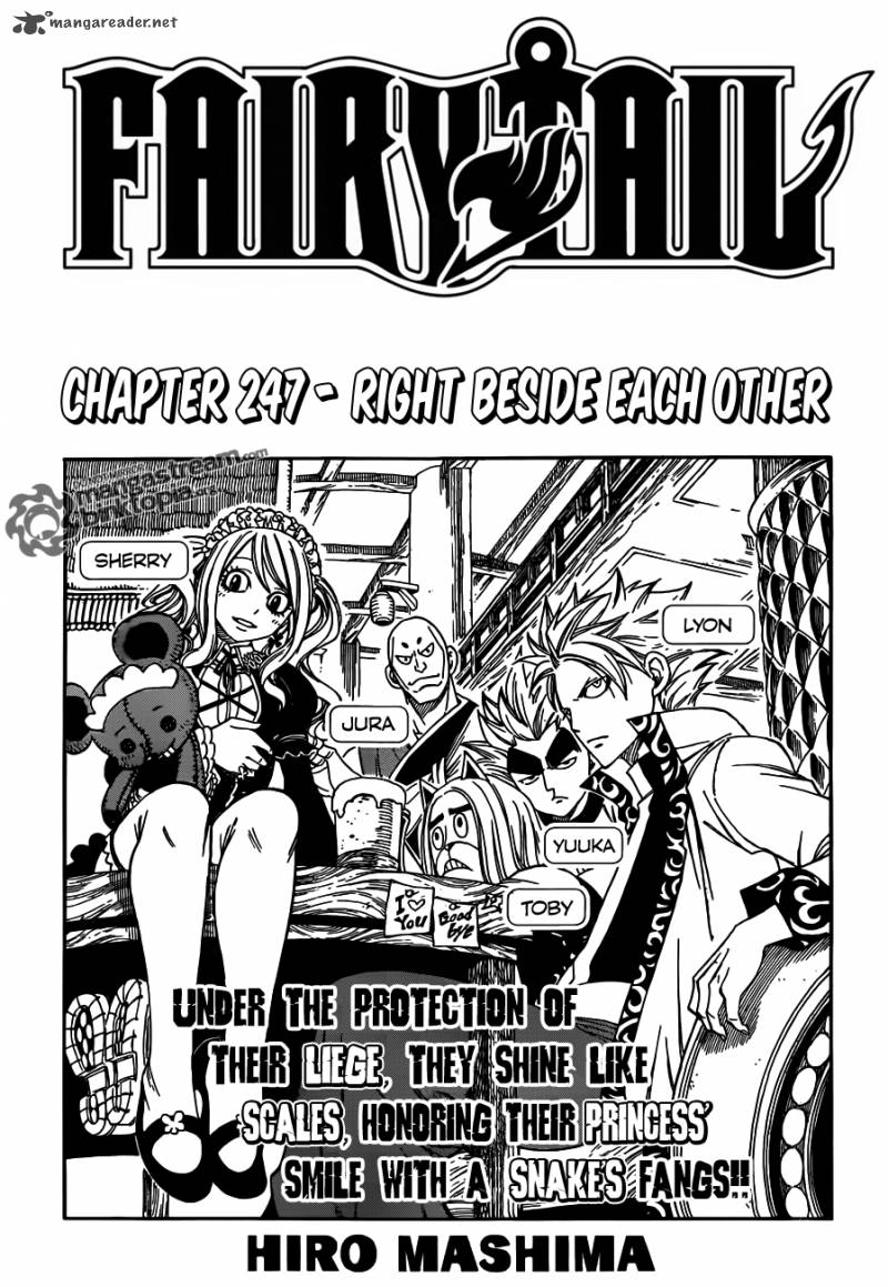 Fairy Tail Chapter 247 Page 1