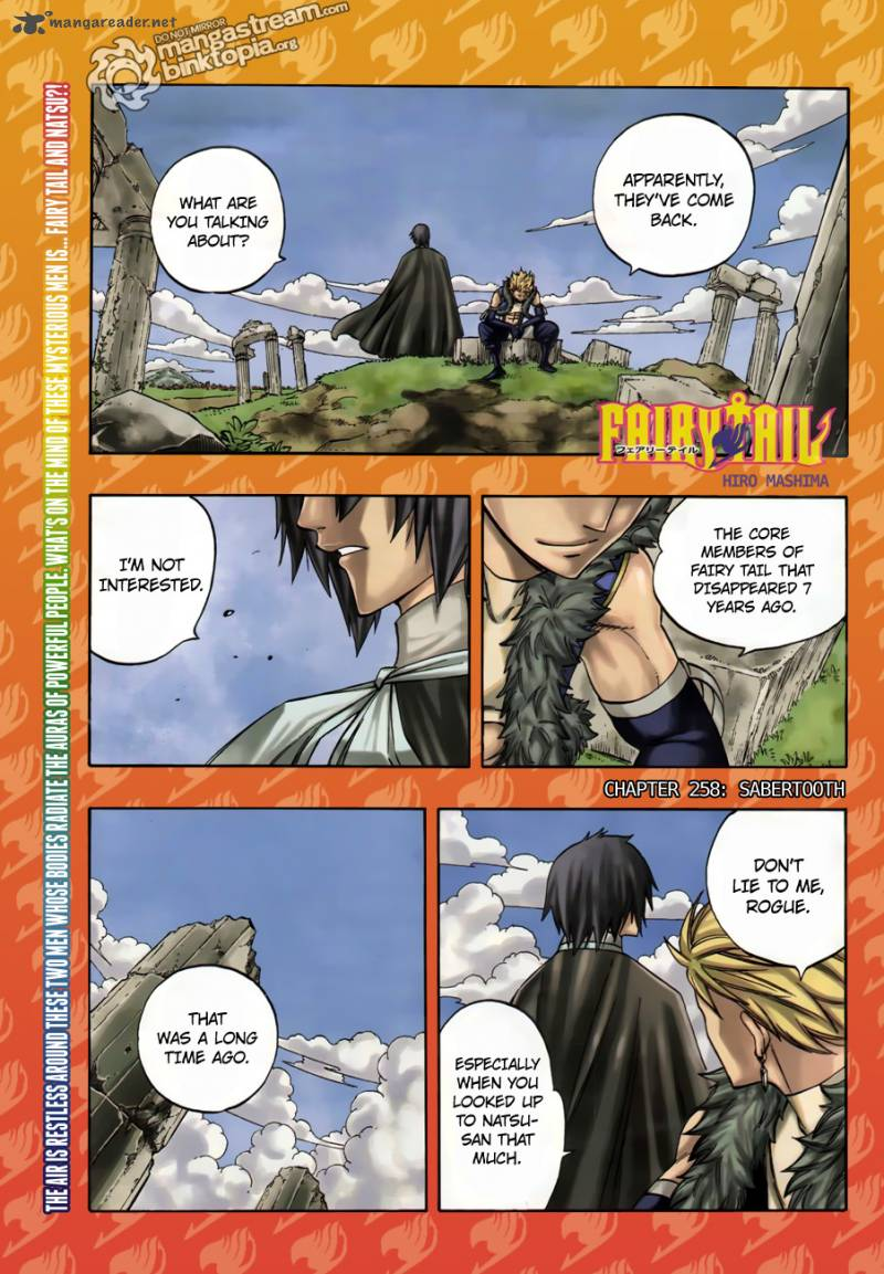 Fairy Tail Chapter 258 Page 1