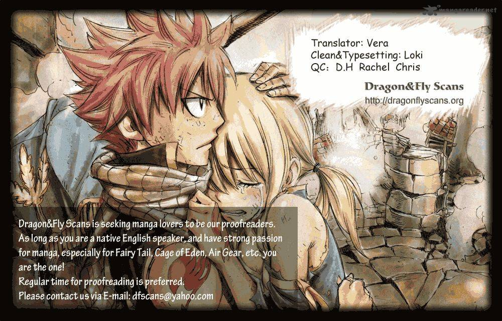 Fairy Tail Chapter 262 Page 1