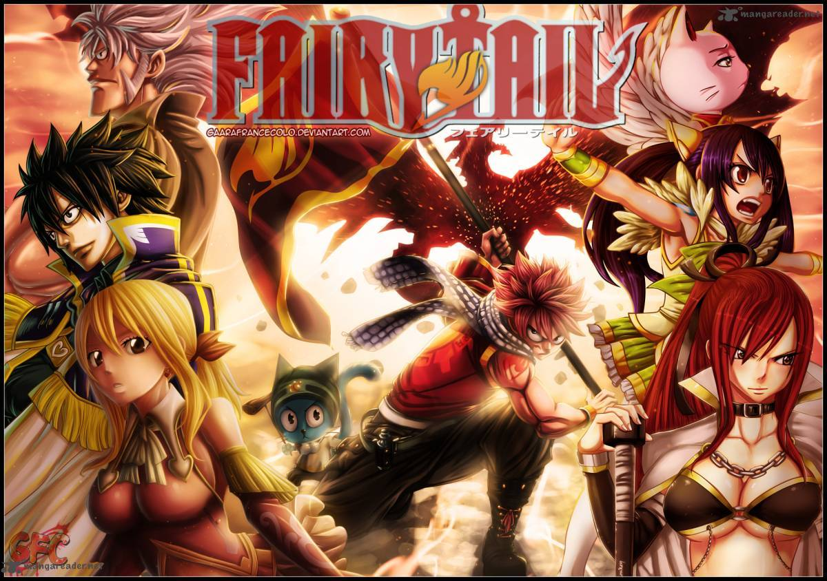 Fairy Tail Chapter 338 Page 1