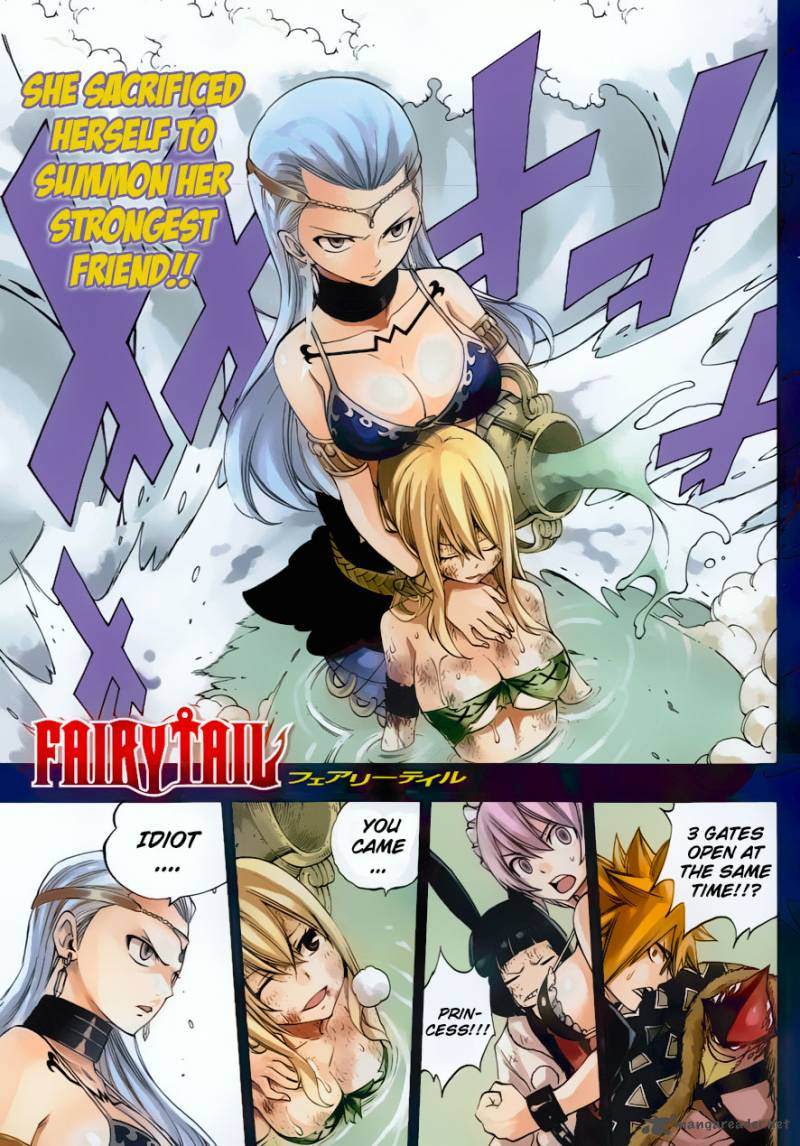 Fairy Tail Chapter 384 Page 1