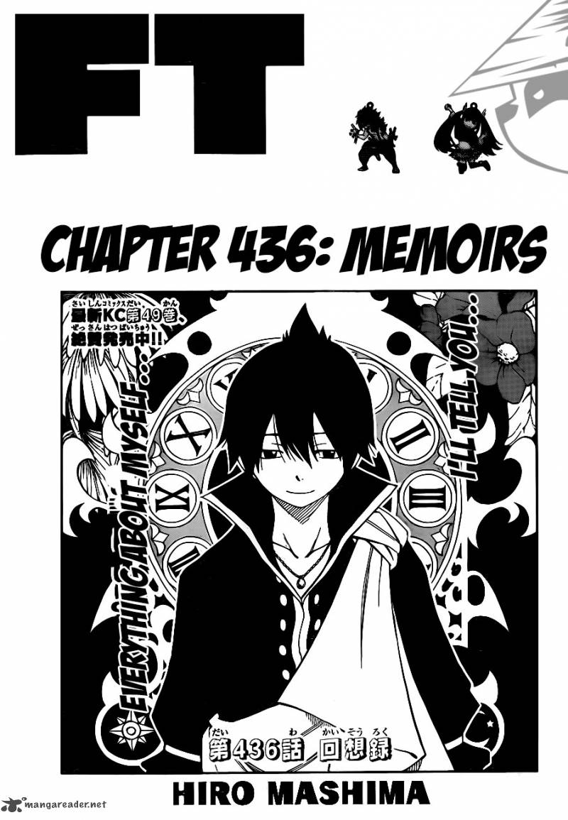 Fairy Tail Chapter 436 Page 1