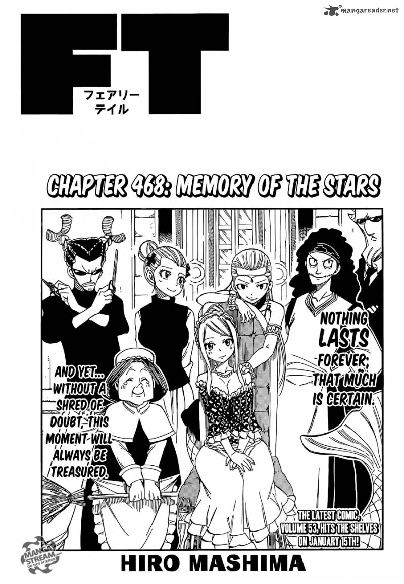 Fairy Tail Chapter 468 Page 1