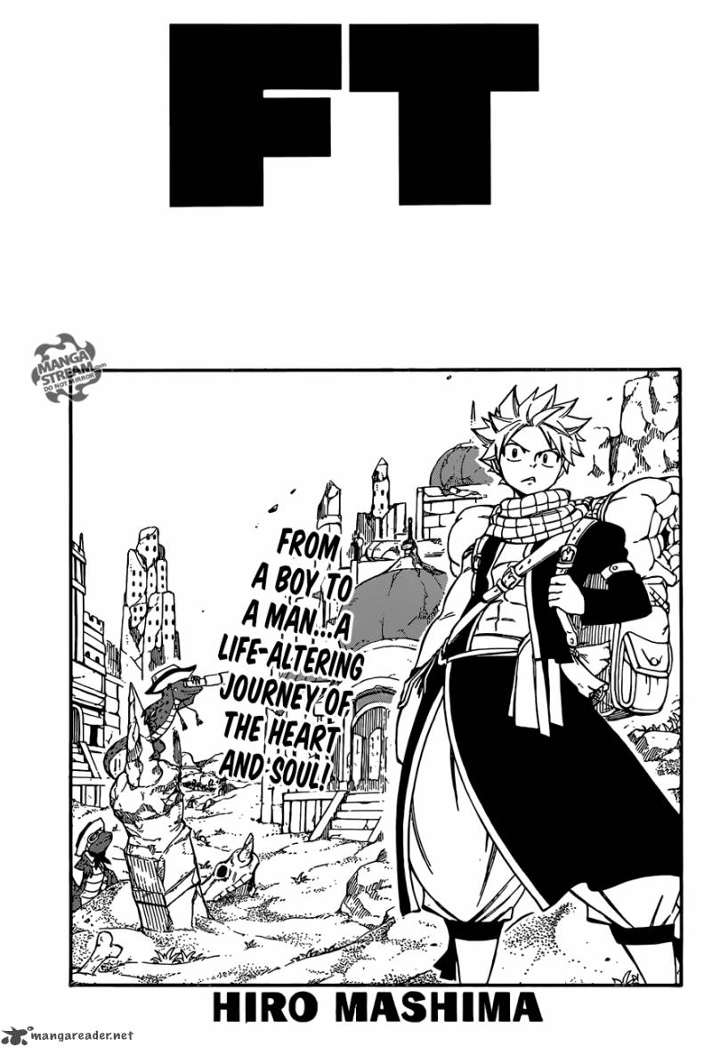 Fairy Tail Chapter 502 Page 1