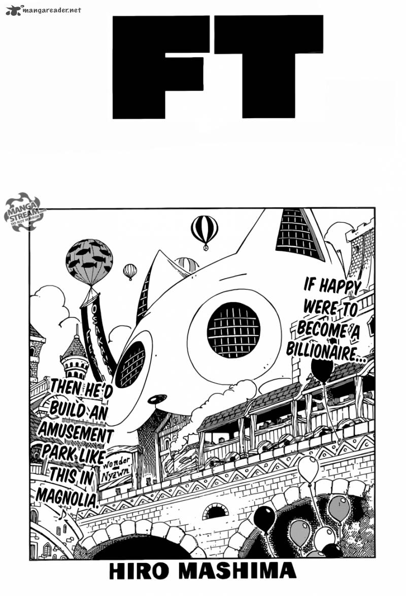Fairy Tail Chapter 507 Page 1