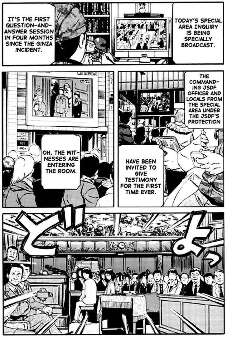 Gate Jietai Kare No Chi Nite Kaku Tatakeri Chapter 18 Page 1