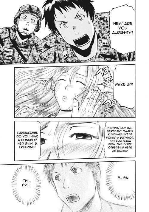 Gate Jietai Kare No Chi Nite Kaku Tatakeri Chapter 3 Page 1