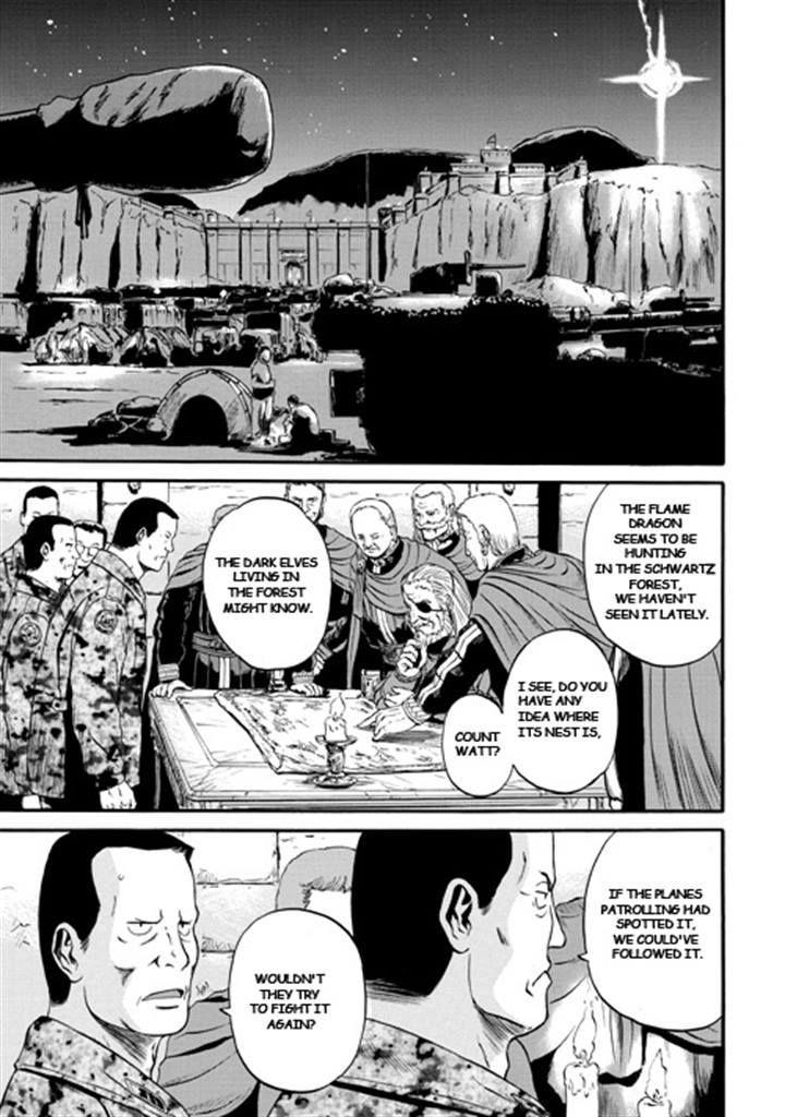 Gate Jietai Kare No Chi Nite Kaku Tatakeri Chapter 44 Page 1