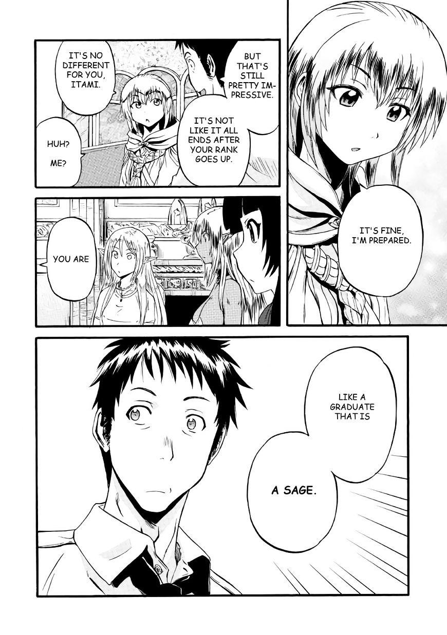 Gate Jietai Kare No Chi Nite Kaku Tatakeri Chapter 66 Page 31