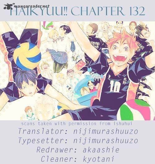 Haikyu Chapter 132 Page 1
