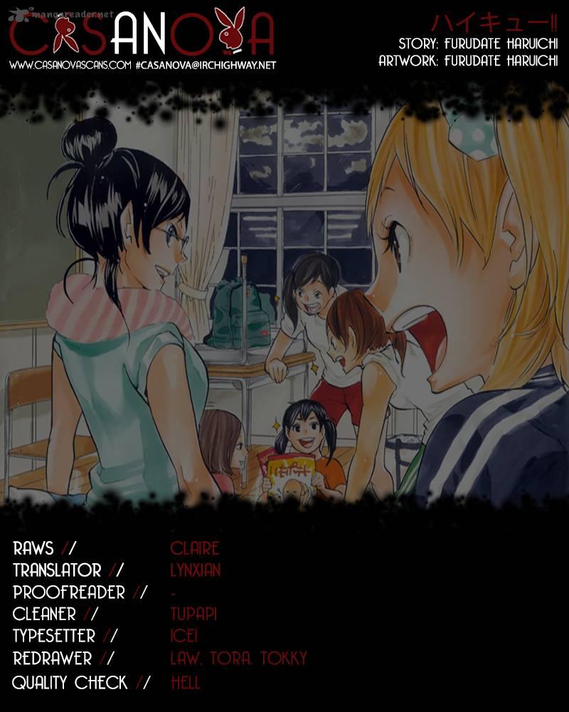 Haikyu Chapter 135 Page 1