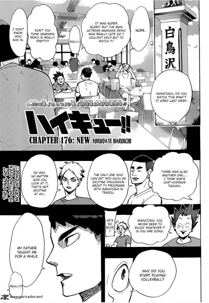 Haikyu Chapter 176 Page 1