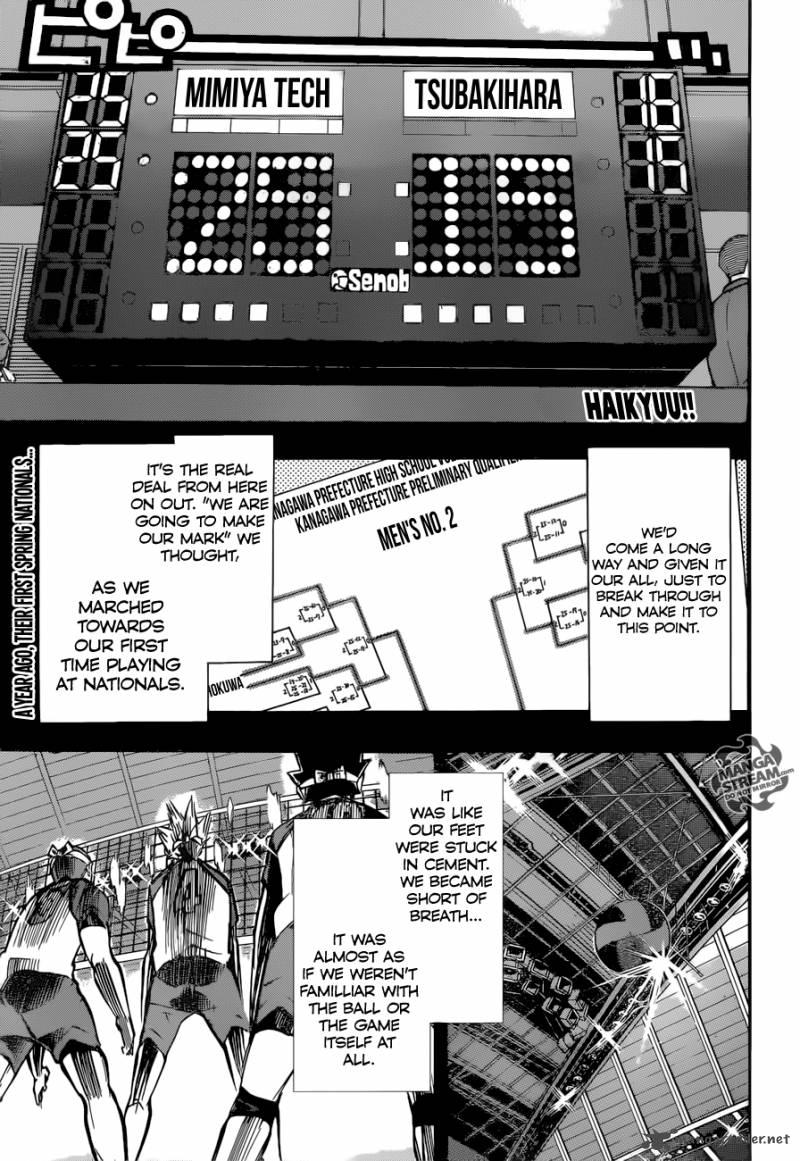 Haikyu Chapter 236 Page 1