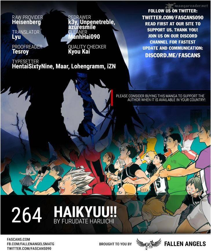 Haikyu Chapter 264 Page 1