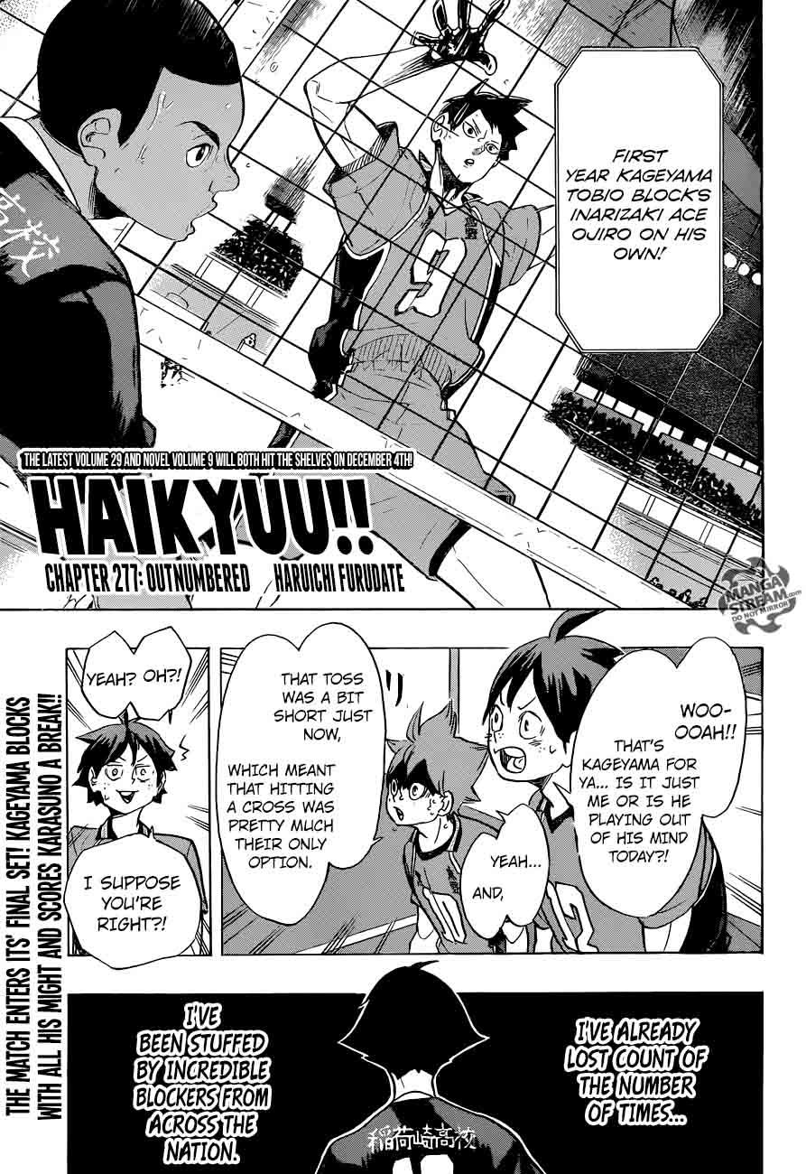 Haikyu Chapter 277 Page 1