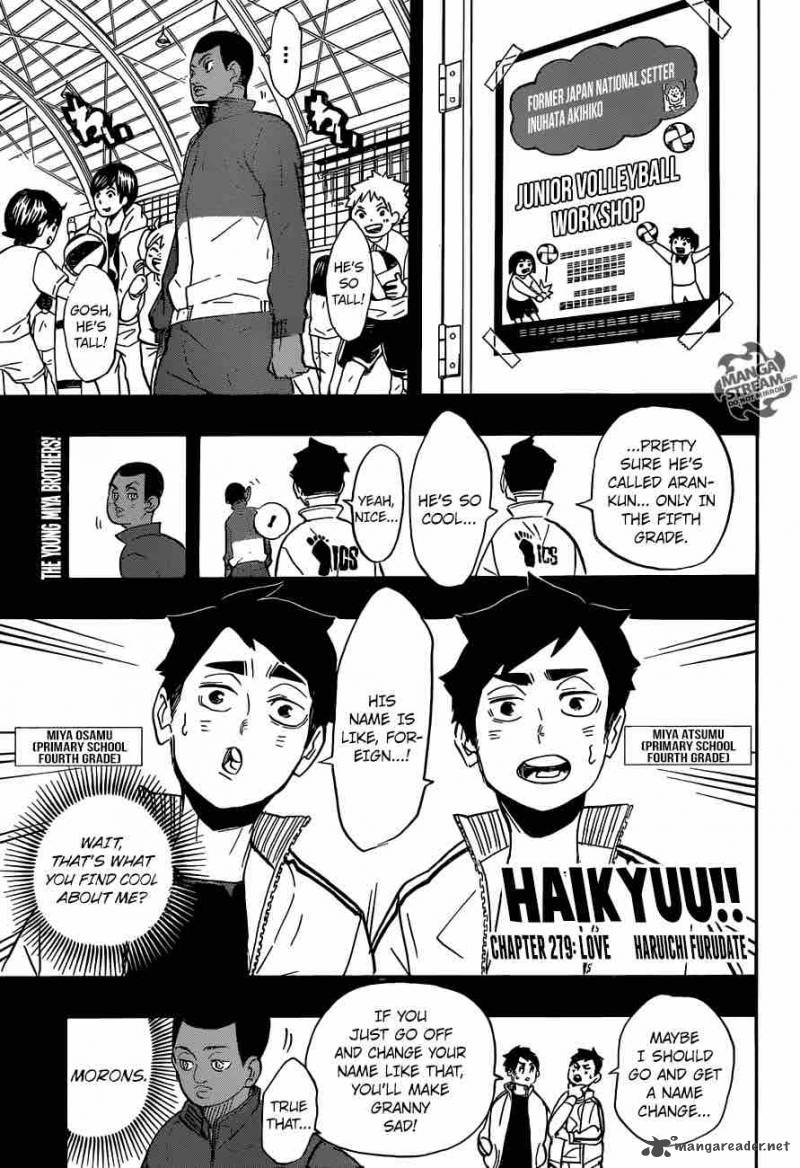 Haikyu Chapter 279 Page 1