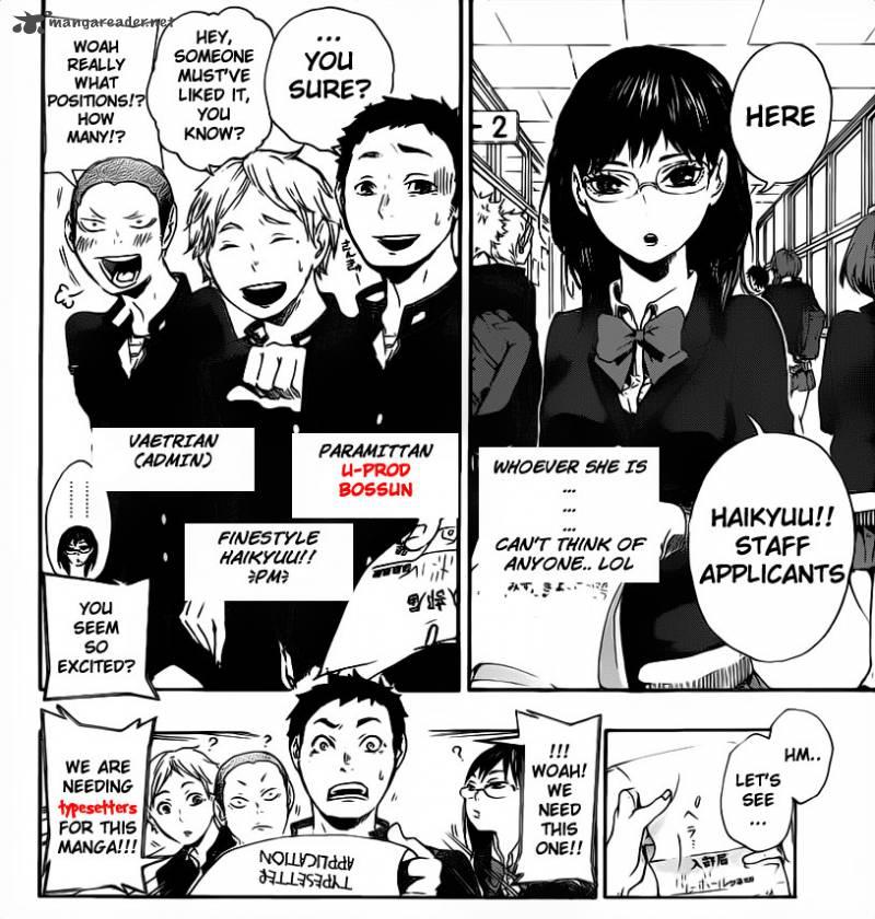 Haikyu Chapter 3 Page 1