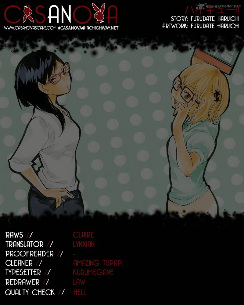 Haikyu Chapter 84 Page 1