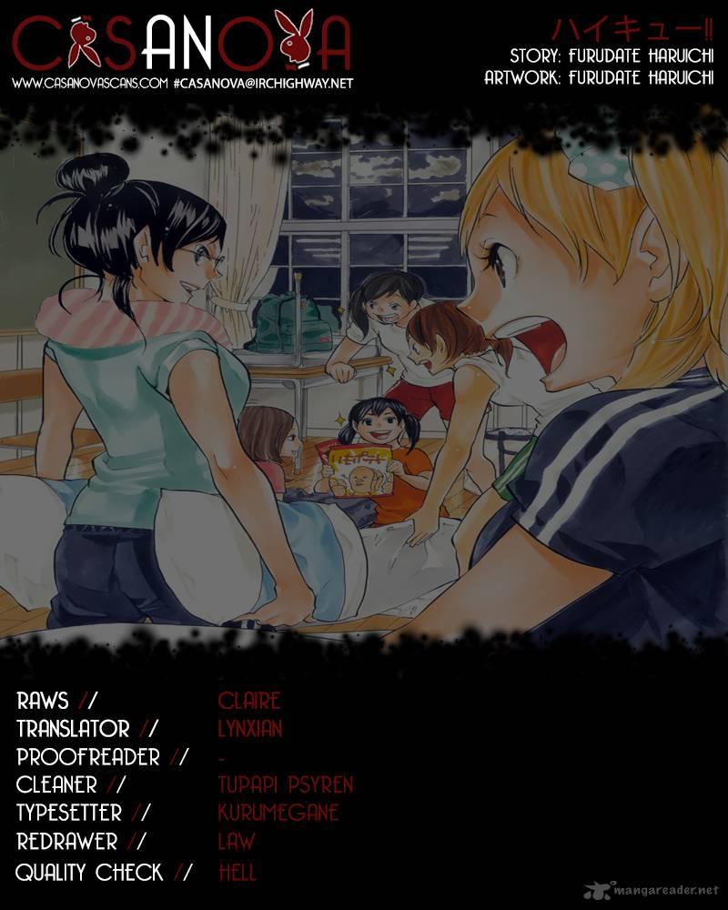 Haikyu Chapter 92 Page 1
