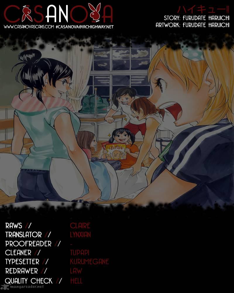 Haikyu Chapter 96 Page 1