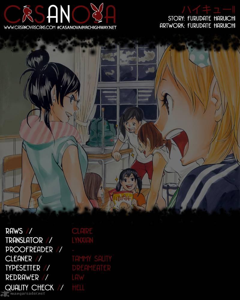Haikyu Chapter 99 Page 1