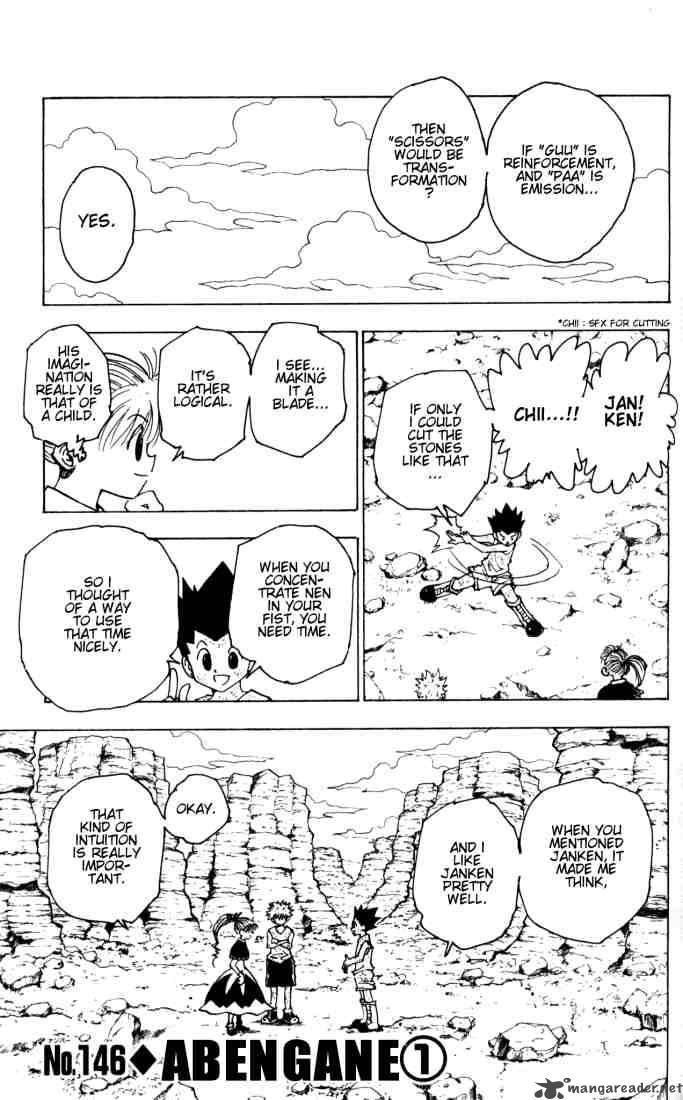 Hunter X Hunter Chapter 146 Page 1