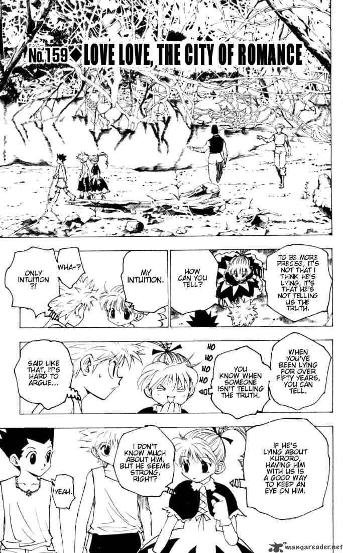 Hunter X Hunter Chapter 159 Page 1