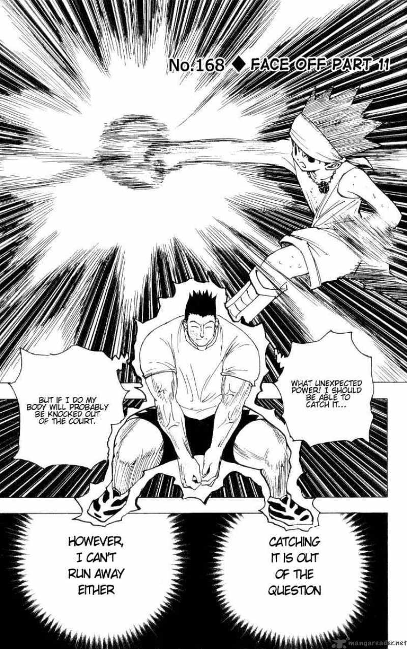 Hunter X Hunter Chapter 168 Page 1
