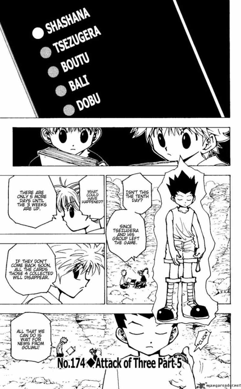 Hunter X Hunter Chapter 174 Page 1