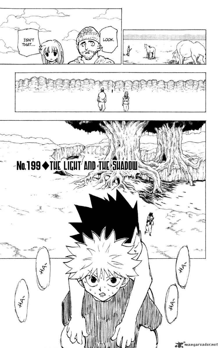 Hunter X Hunter Chapter 199 Page 1