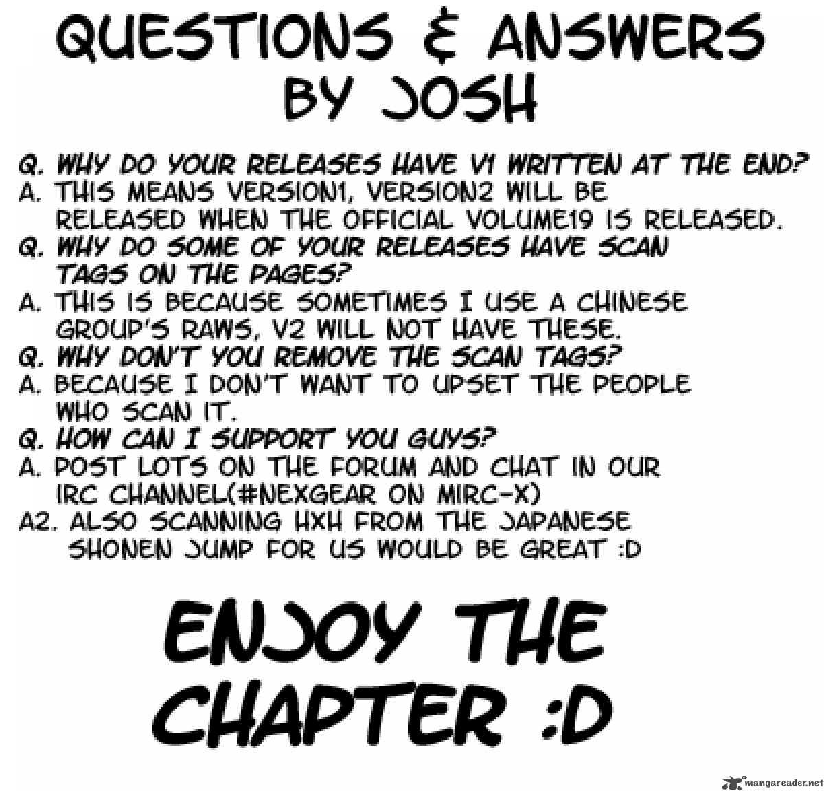Hunter X Hunter Chapter 205 Page 1