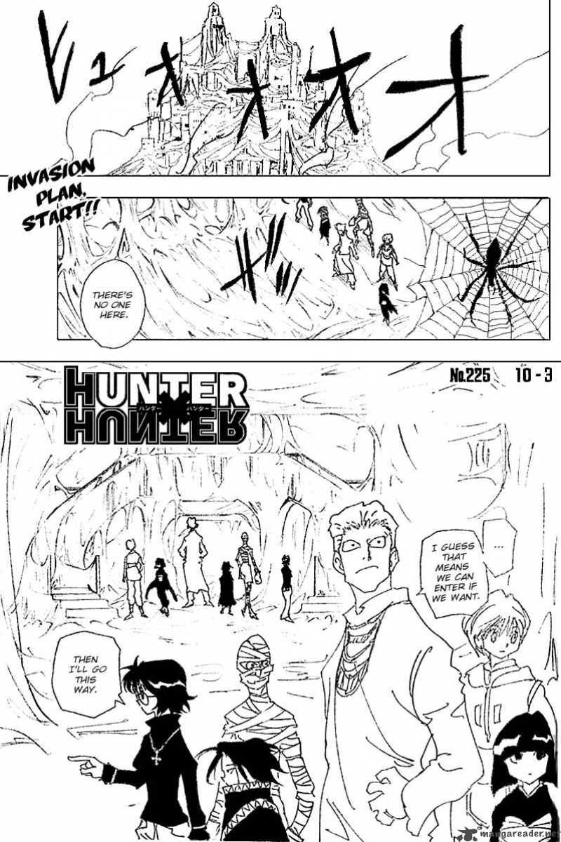Hunter X Hunter Chapter 225 Page 1