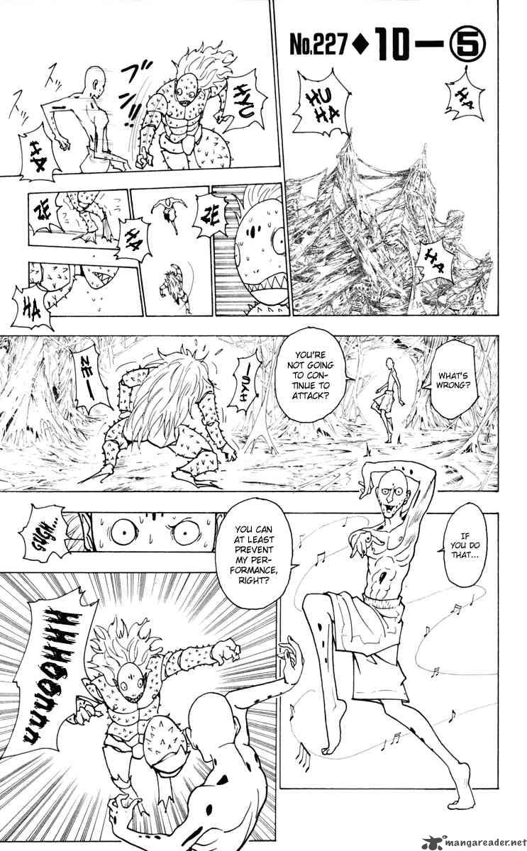 Hunter X Hunter Chapter 227 Page 1