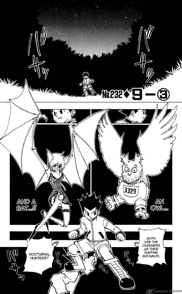 Hunter X Hunter Chapter 232 Page 1