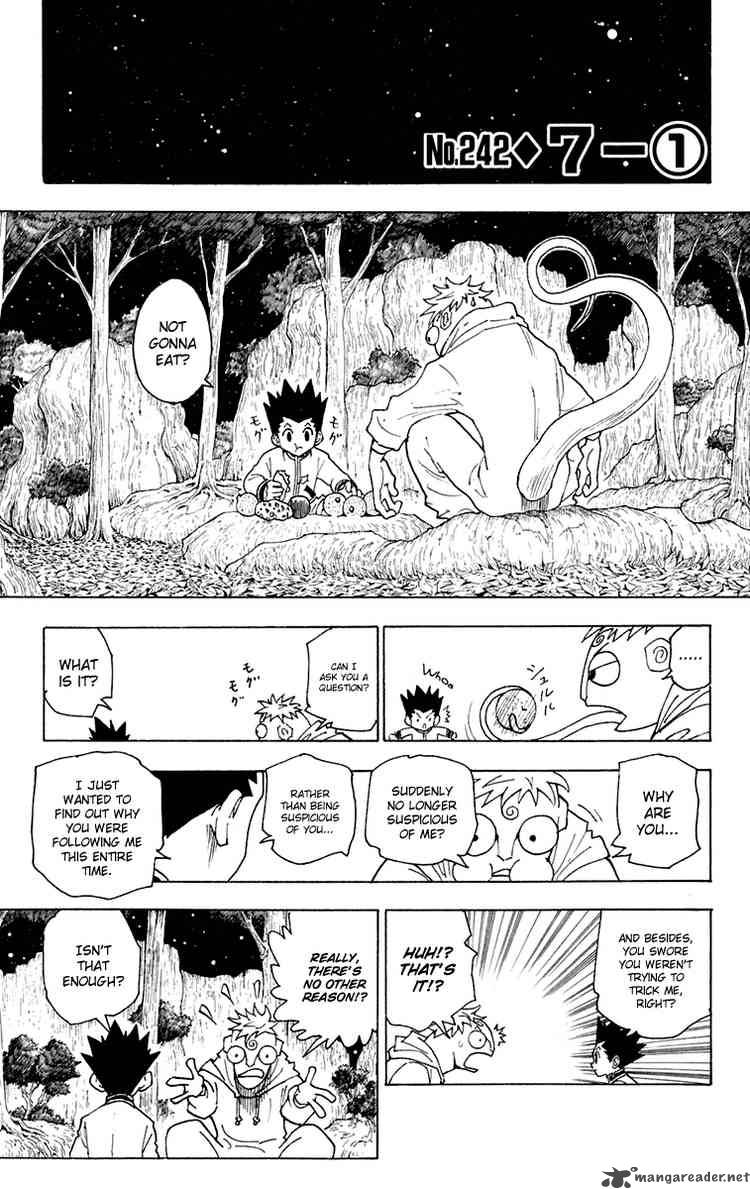 Hunter X Hunter Chapter 242 Page 1